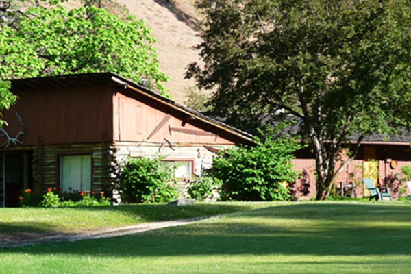 The duplex cabins at Shepp Ranch.