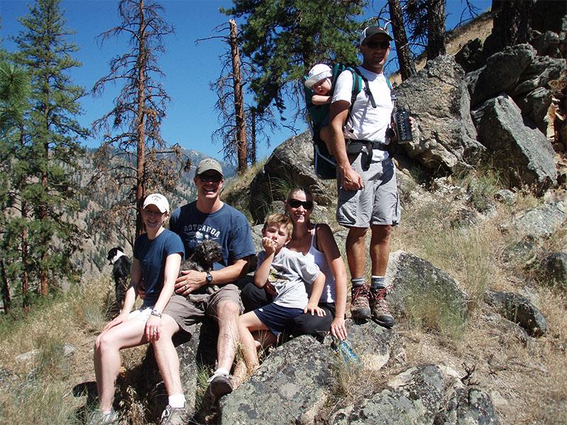 Hiking at Shepp Ranch.