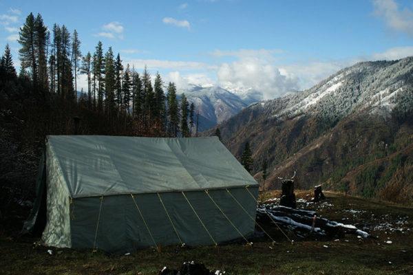 Huntin camp.